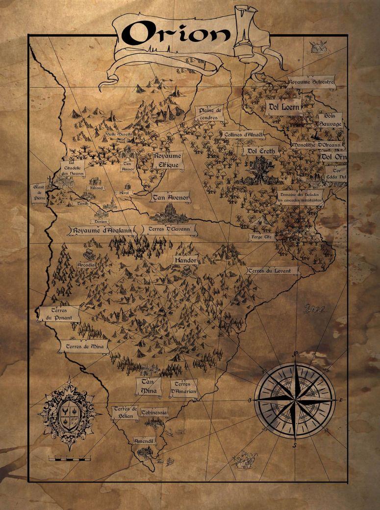 Carte d'Orion Achevée