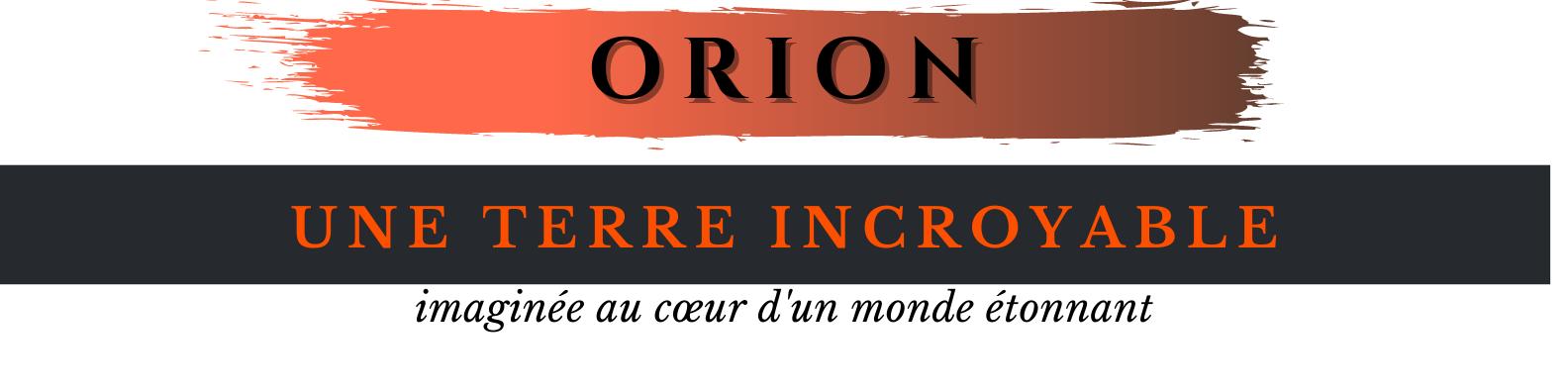 Bandeau Orion texte